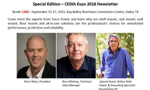 Special Edition Cedia Expo 2016 Newsletter