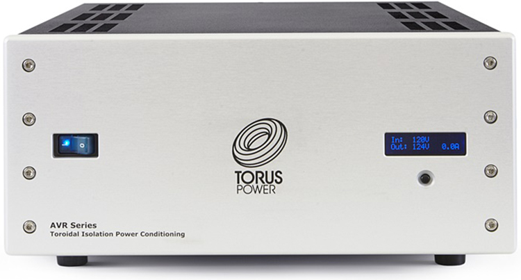 Torus Power AVR20 Toroidal Isolation Power Transformer - Front Silver