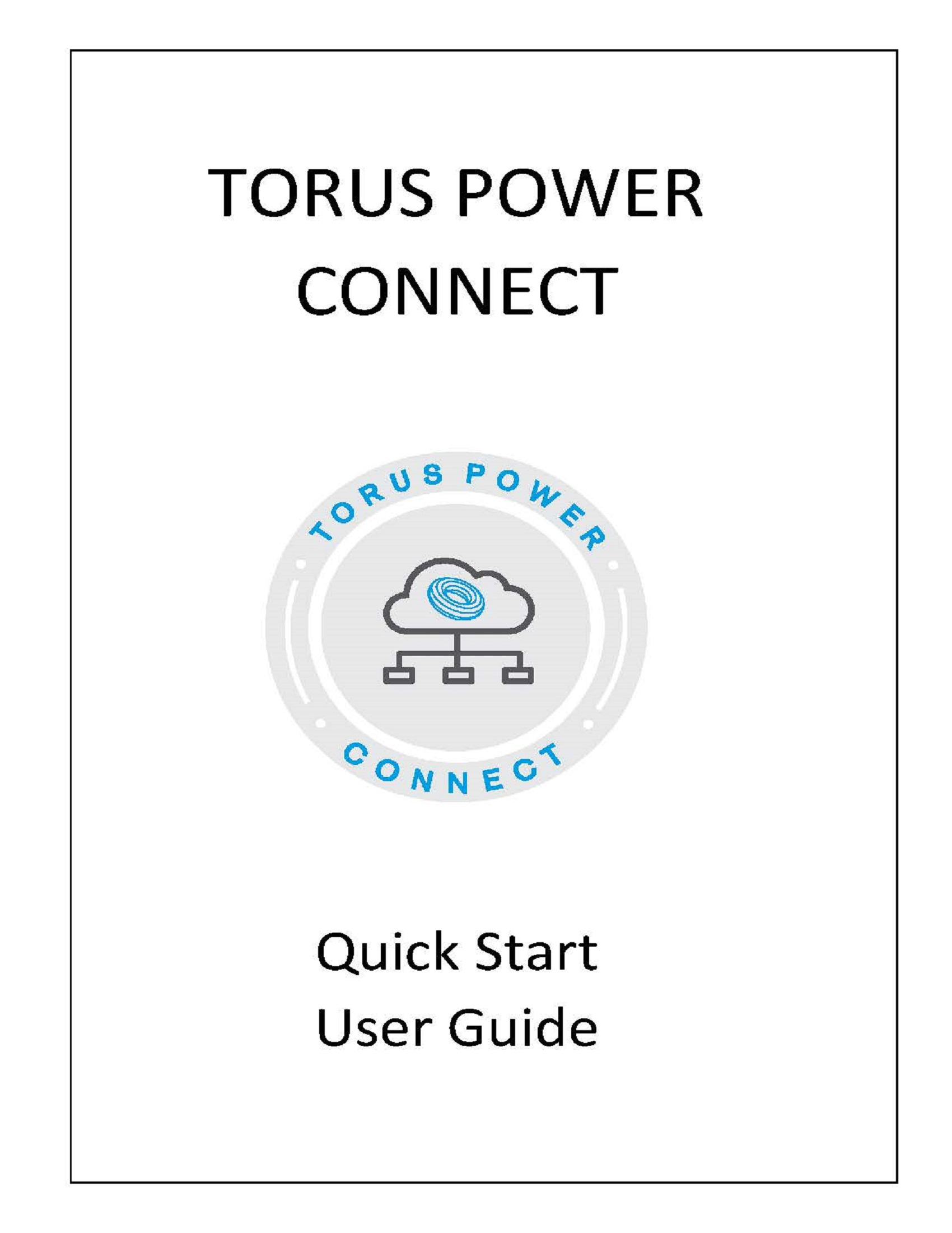 Quick Start Torus Power Connect