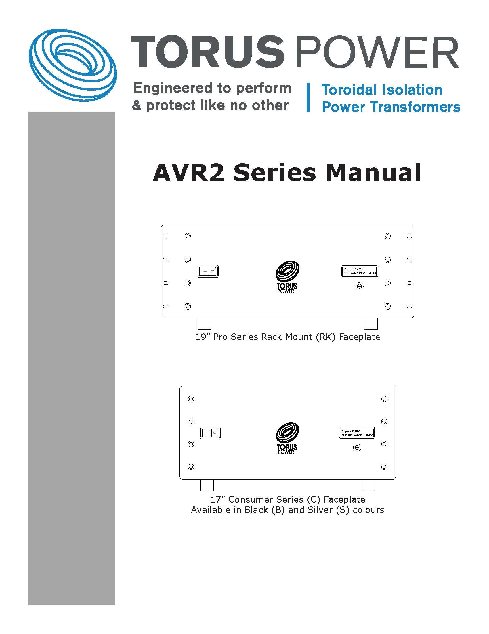 AVR2 Manual