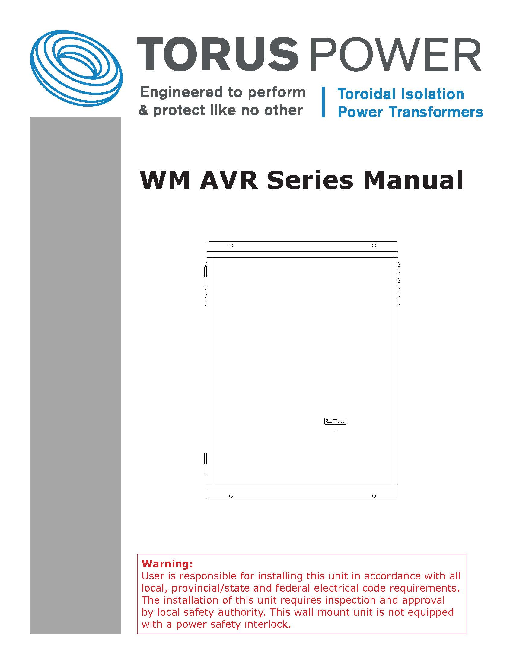 WM AVR Manual