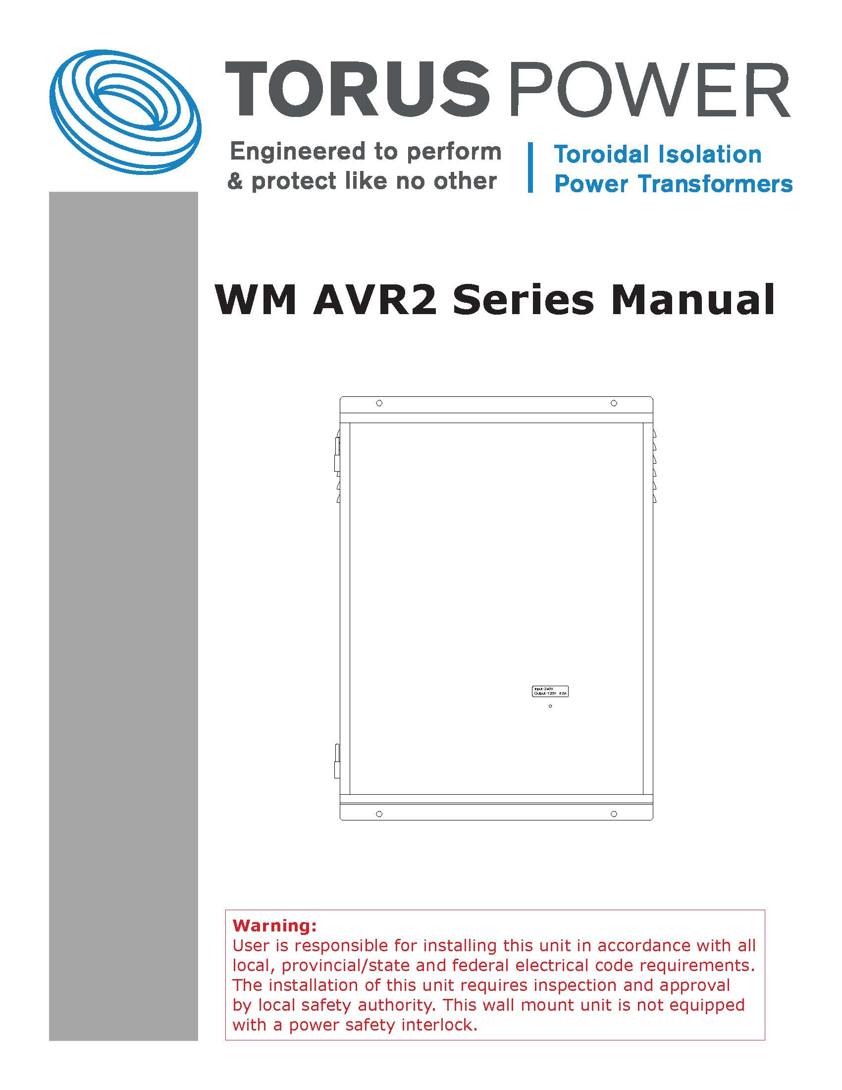 AVR-2 ELITE Owner's Manual