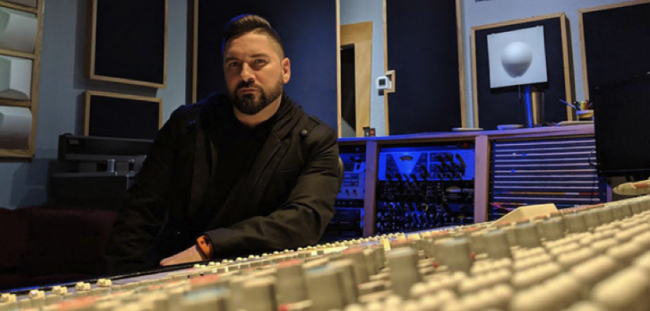 Recording engineer/music producer Francesco Benvenuto is working during COVID — thanks to Torus Power